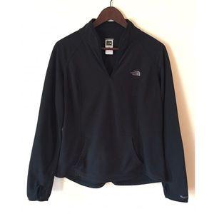 The North Face   Black TKA Micro Pullover   Size L